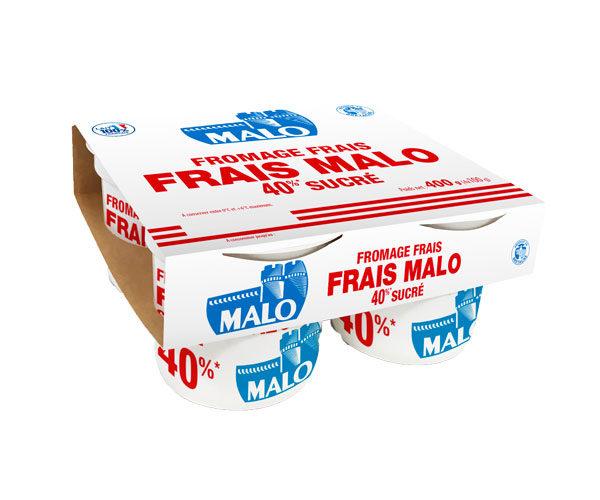 Fromage frais Malo 40% sucré