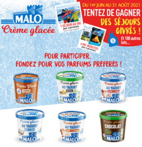 Jeu concours glaces Malo