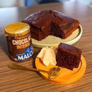 brownie moelleux chocolat intense