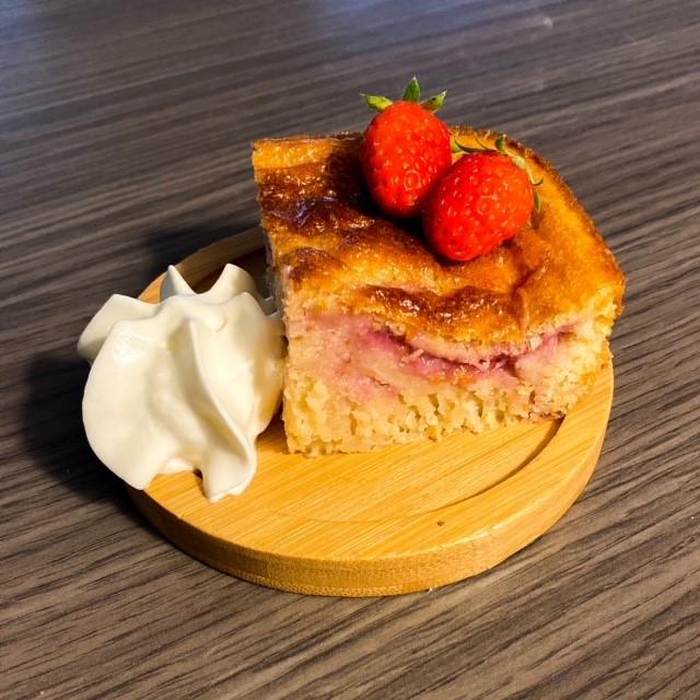 moelleux amande et fraises